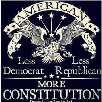less dem, less repub, more constitution