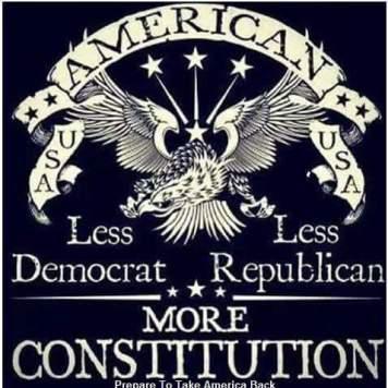 less dem, less repub, more constitution